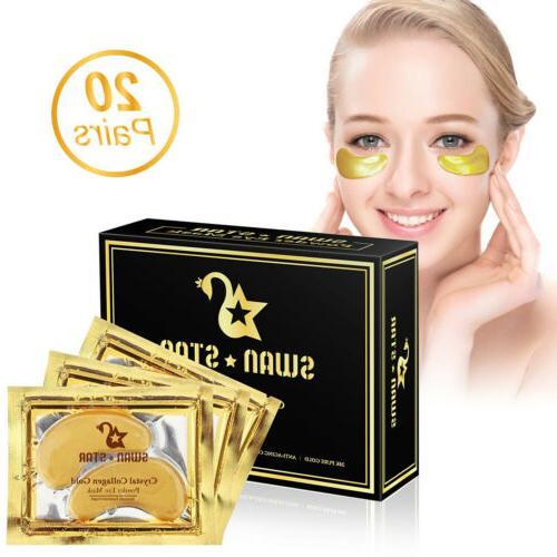 20Pairs Gold Collagen Anti Dark