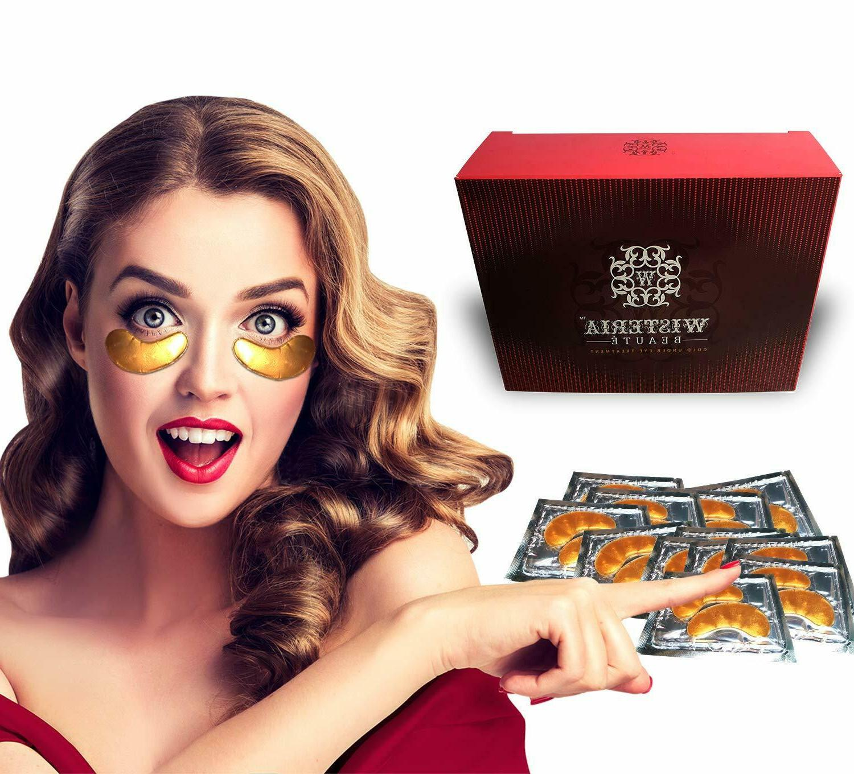 24k gold anti aging eye masks under