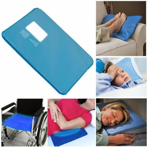 2x Cooling Insert Pad Mat Sleeping Relax Muscle Chillow Pillow