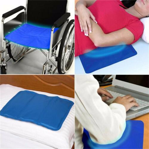 2x Cooling Pad Mat Aid Relax Chillow Pillow