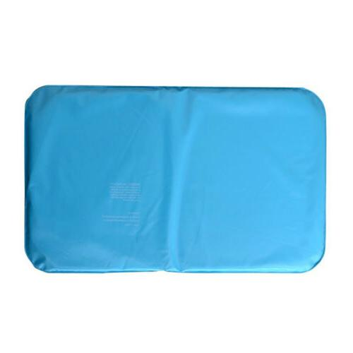 2x Cooling Mat Relax Ice Pillow