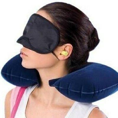 Ascension 3 In 1 Air Travel Kit Combo - Pillow , Ear Buds &