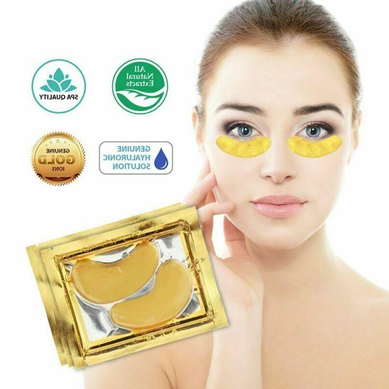 30pairs crystal gold collagen under eye patches