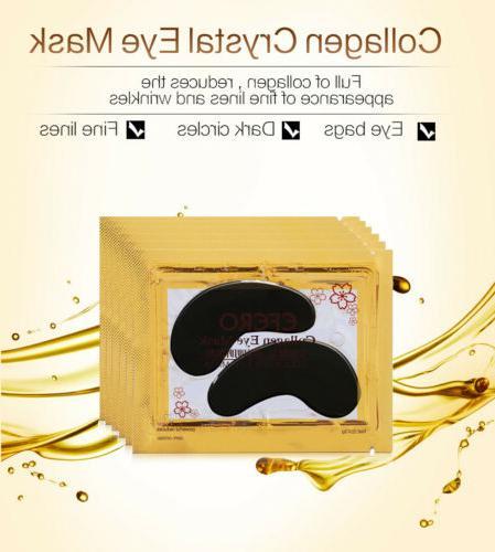 20Pack Crystal Collagen Eye Mask Aging Dark Pad