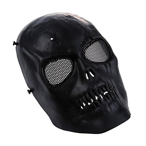 3d aof2 skull airsoft mask
