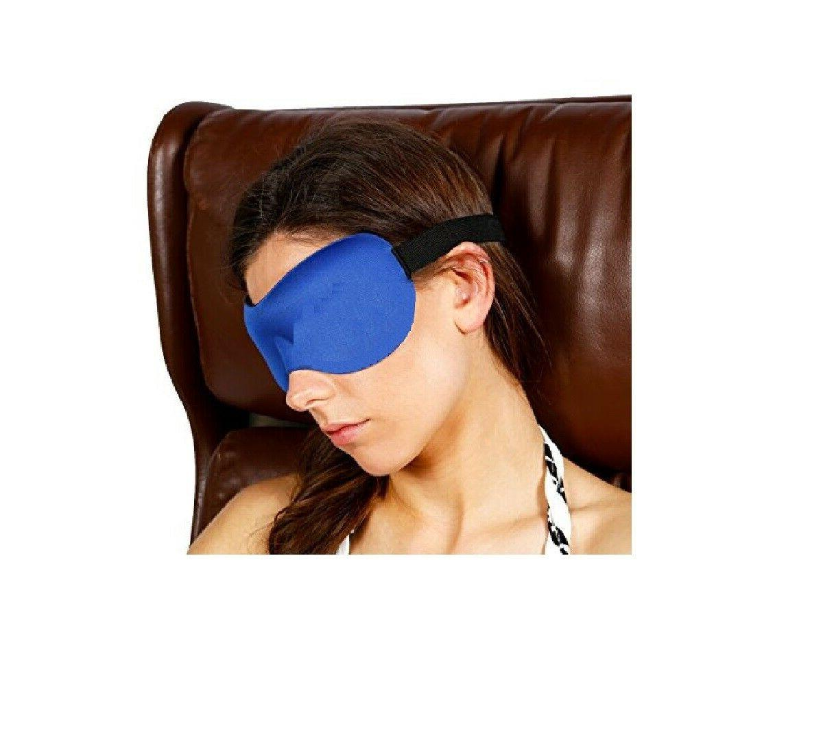 3D Blackout Sleep Eye with Ear Plugs