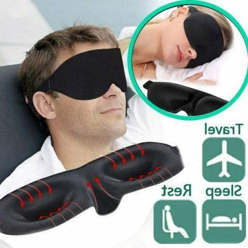 Unisex Blindfold Travel Sleep Shade Cover