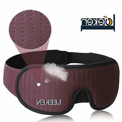 3d sleeping eye mask 100 percent lights