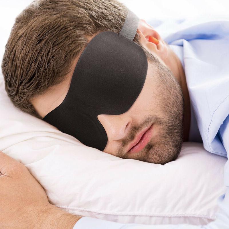 3D Mask Shade Memory Blindfold Foam Relax