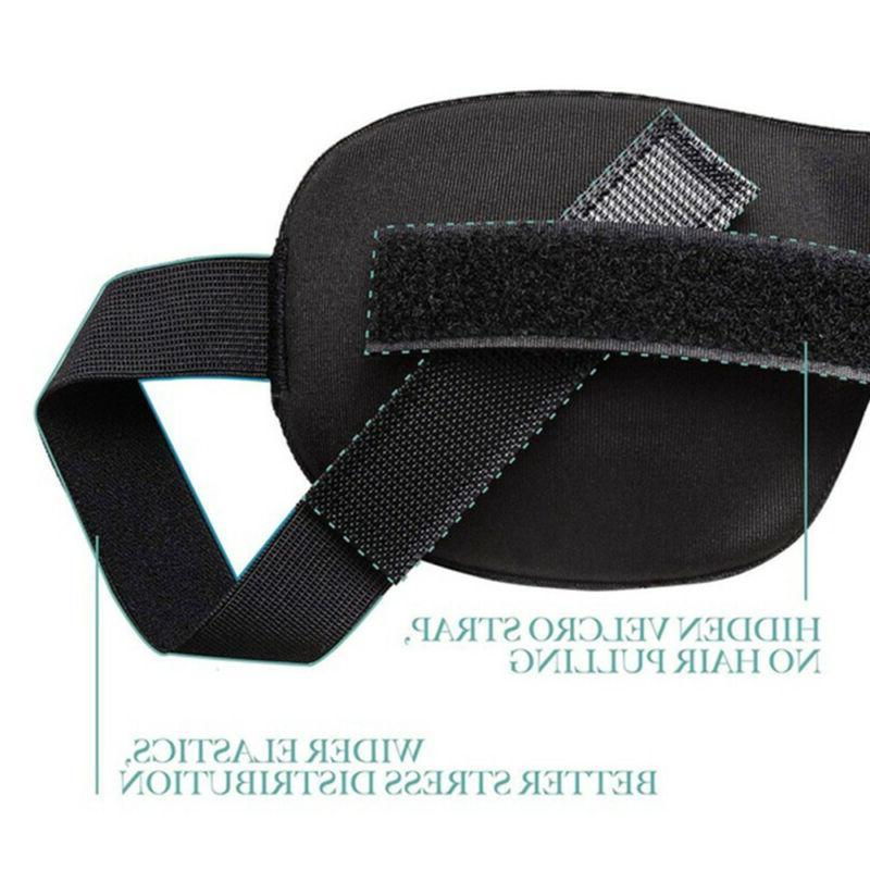 3D Shade Eyepatch Rest Memory Padded Foam Relax