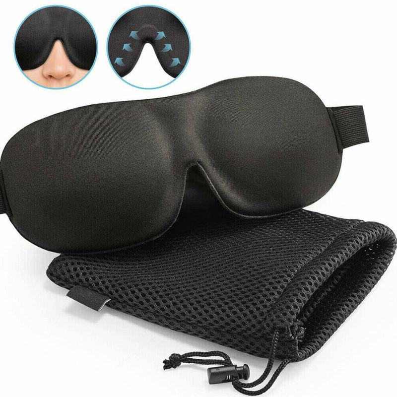 3D Eye Mask Shade Memory Padded Blindfold
