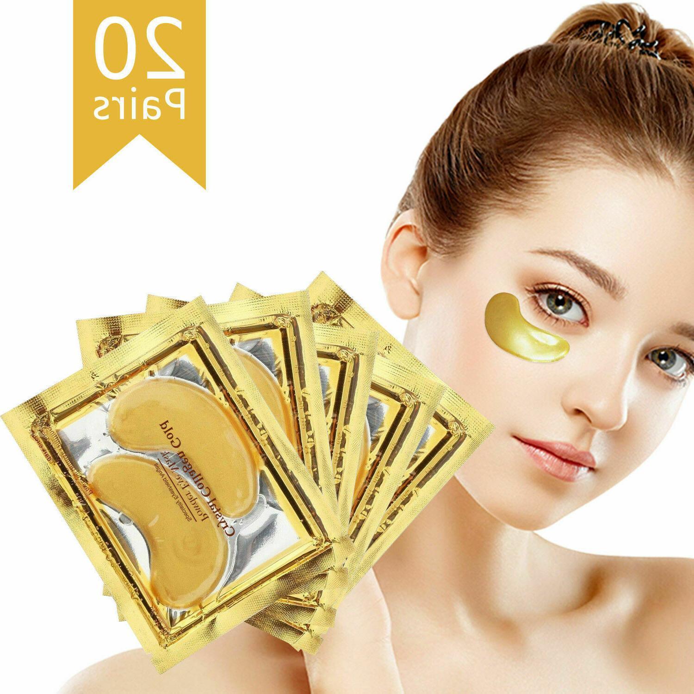 40pc 24K Gold Collagen Patch Gel