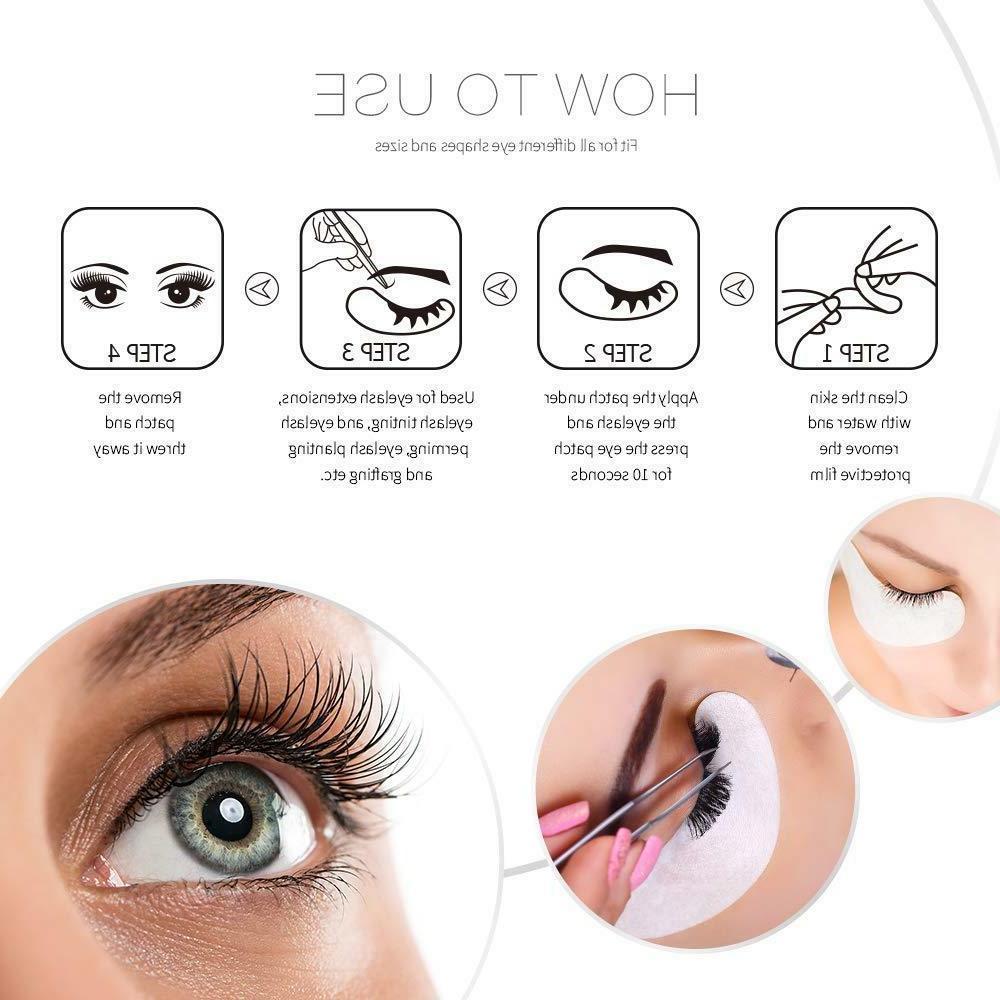 50-200 Eyelash Extension Patches Under Eye Eye Mask