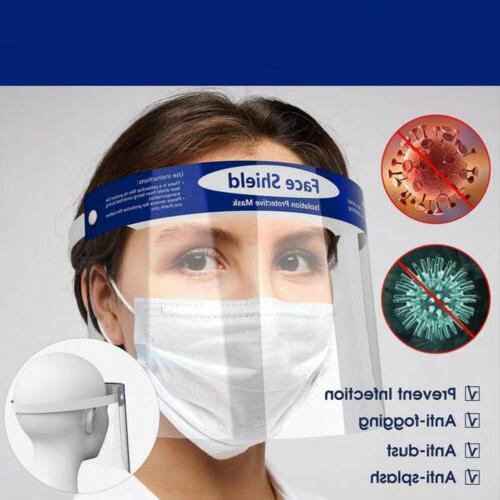 5PCS Protective Full Face Eye Shield Anti-Spray Anti-Fog