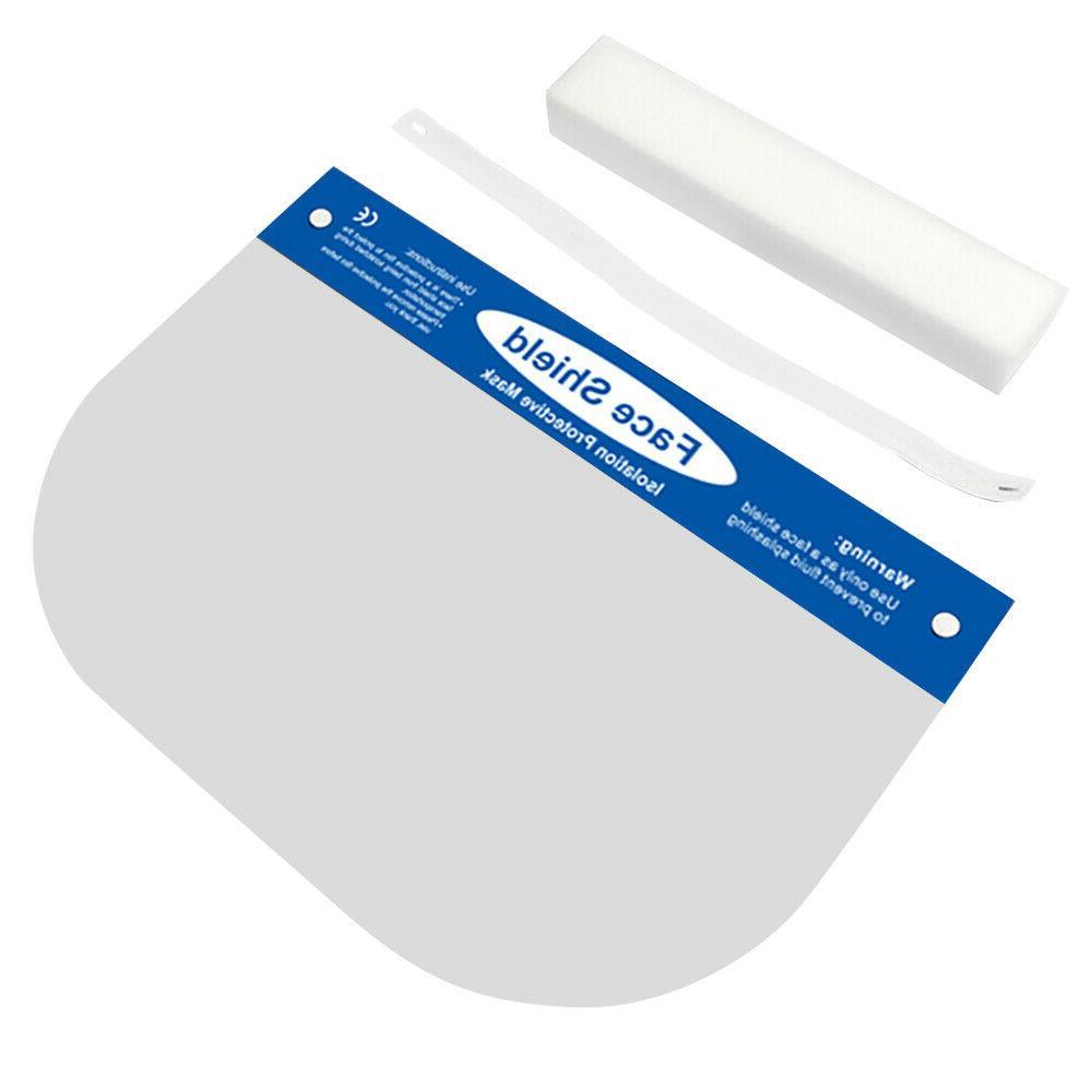 5PCS Mask Full Face Shield Screen Anti-Spray