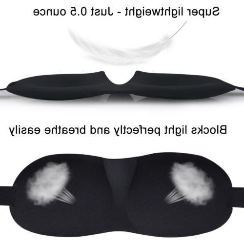 Travel 3D Eye Sleep Soft Shade Cover Sleeping Blindfold hi