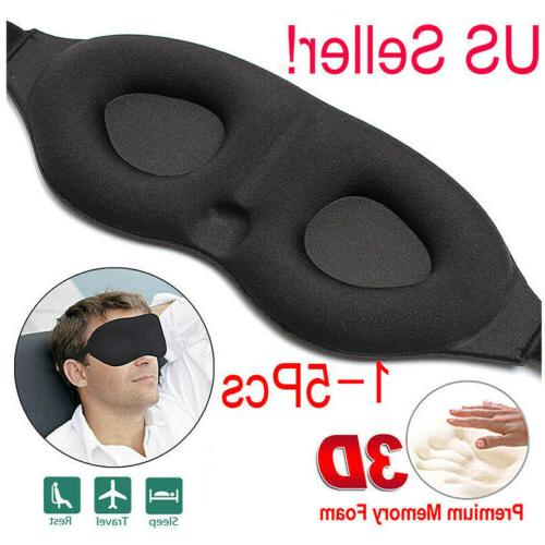 5x travel 3d eye mask sleep soft