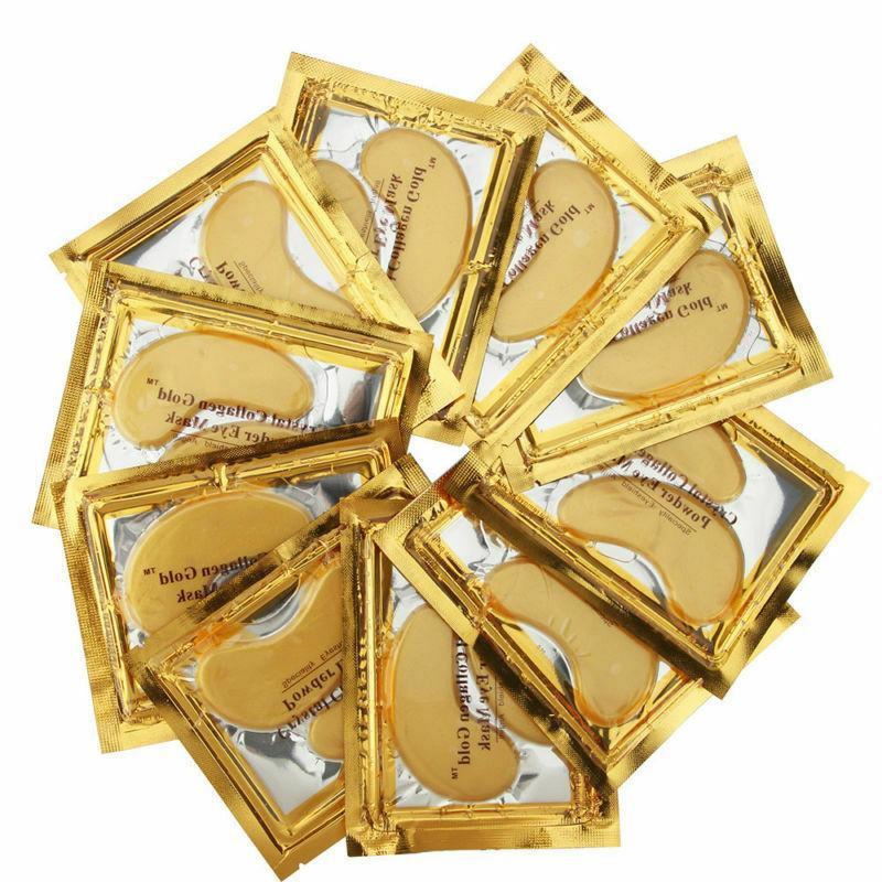 60Pairs Mask Gold Anti Circle Gel