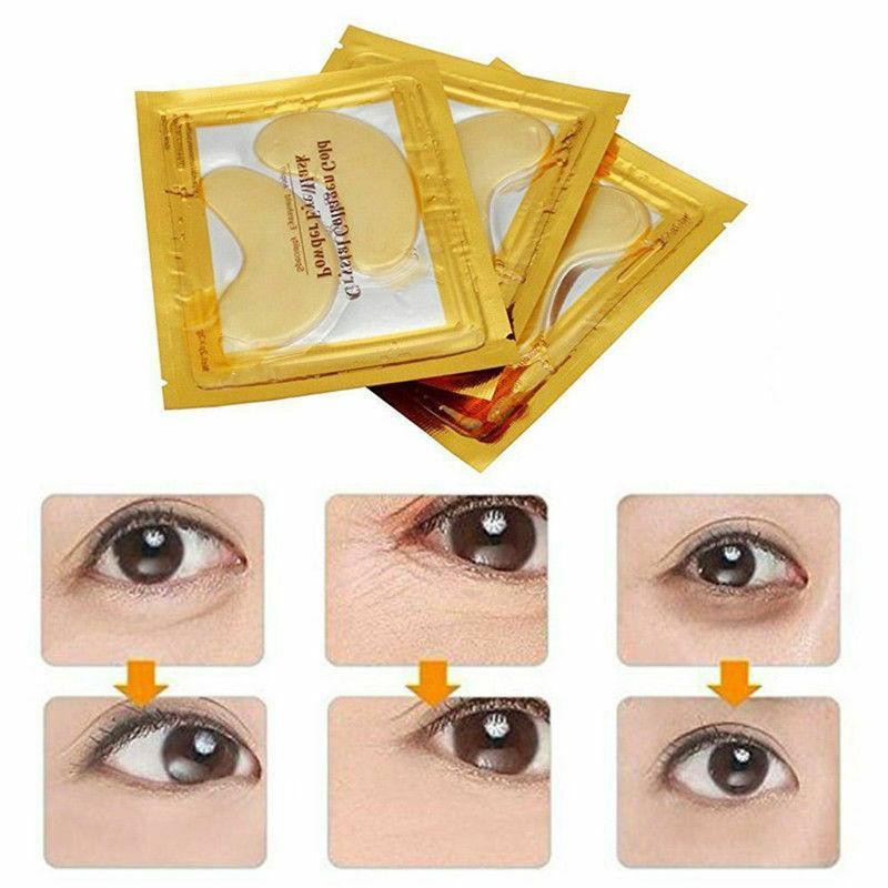60Pairs Eye Gold Gel Pad
