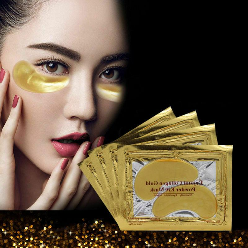 60Pairs Mask Gold Anti Dark Circle Gel Pad