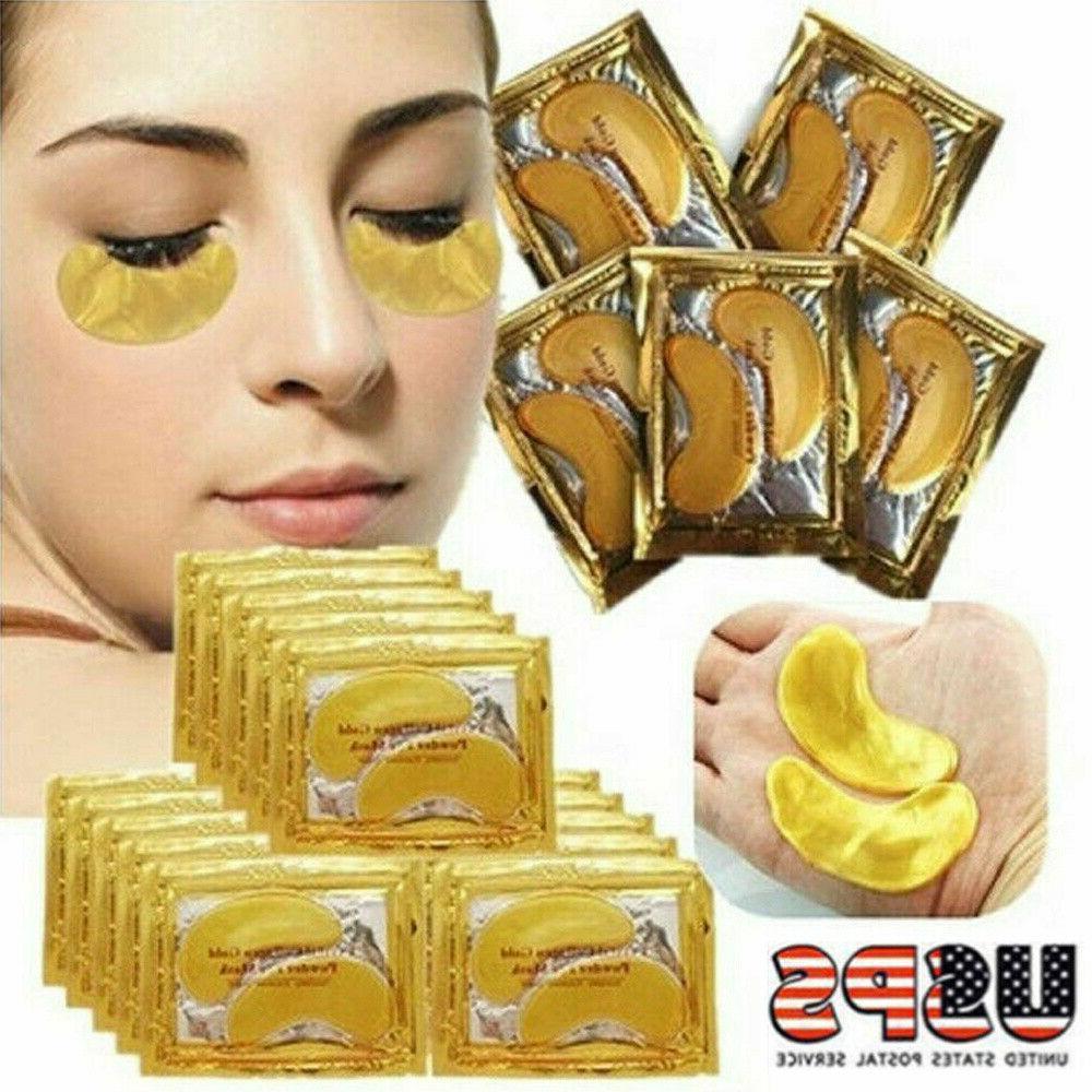 60pairs under eye mask gold collagen eye