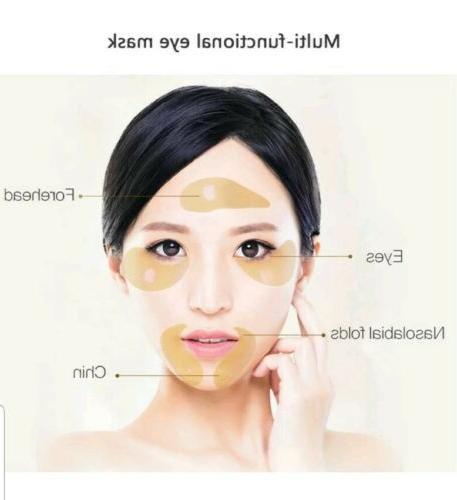 60Pcs Hydrogel Eye Collagen Under Pads