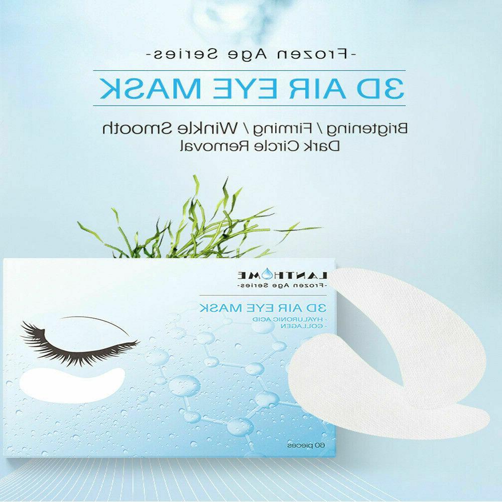60Pcs Hydrogel Eye Patch Firming Collagen Under Eye