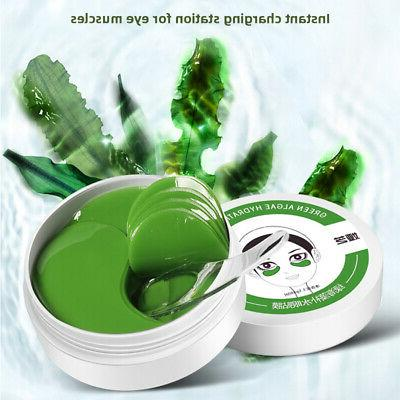 60pc green seaweed collagen eye mask hydrogel