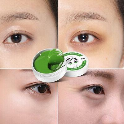 60pc Green Eye Mask Hydrogel Dark