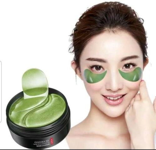 60Pcs Seaweed Hydrogel Eye Collagen Gel Under Eye Pads