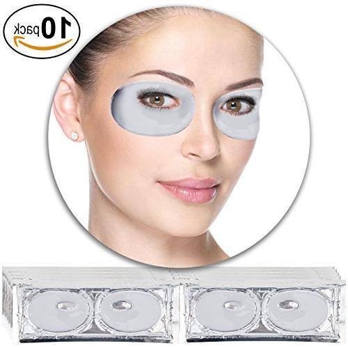 Anti Aging Treatments Set / Kit of 10 Pairs Eyes / Eyelids M