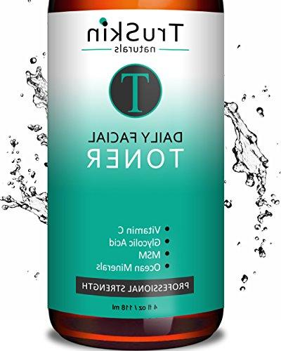 DAILY Facial SUPER Toner for All Skin Types, Contains Glycol