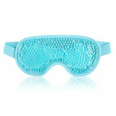 Eye Mask Sleeping Reusable Gel Beads Eye Mask for Hot Cold T