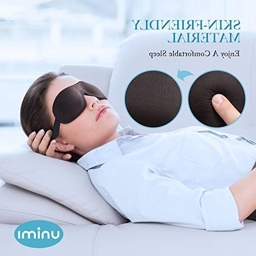 Unimi Sleep Mask for Men Women, Out Light, Comfort Lightweight 3D Eye Cover, Shift Work, Naps, Blindfold