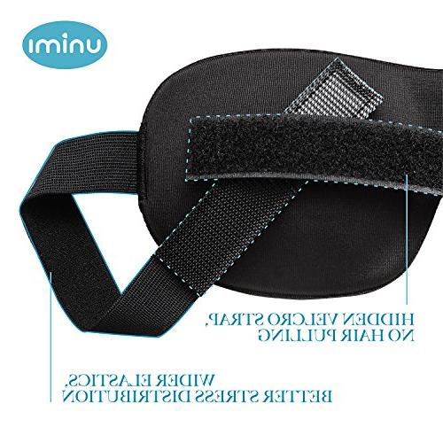 Eye Mask Unimi Sleep for Men Light, Comfort and 3D Eye Shades Shift Work, Naps,