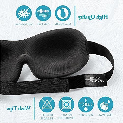 Eye for Unimi Men Light, Comfort and 3D Eye Shades for Travel, Blindfold