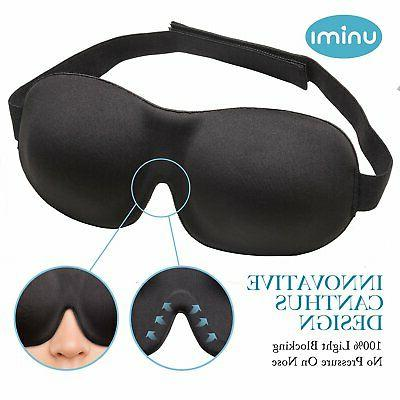 Eye Mask for Unimi Sleep Men Women, Light, Lightweight 3D Eye Shift Naps, Night Blindfold
