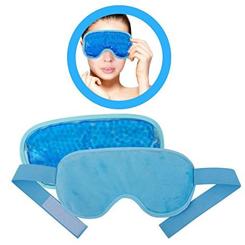 Ice Eye Mask by FOMI Care | Cooling Technology For Relaxing