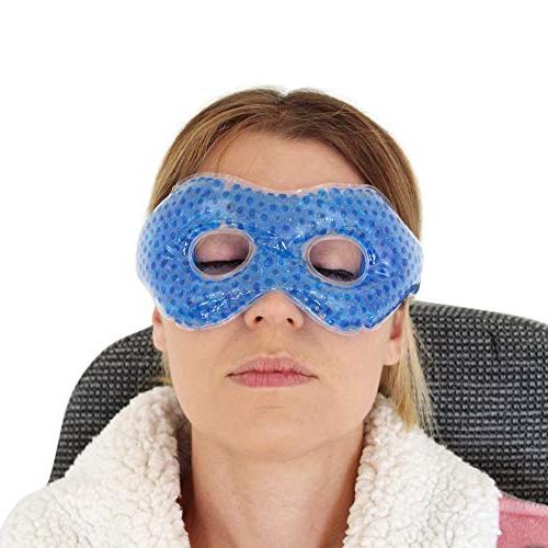 Kimkoo Gel Mask with Flexible Beads &Cool for Puffy Eyes Eye