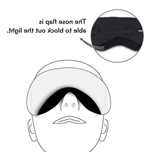 - Mask for Sleeping Strap&Ear Plugs,Blindfold,Eye Cover Blocks Out