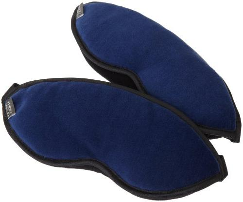 Lewis N. Clark Comfort Eye Mask With Straps Light, Blue