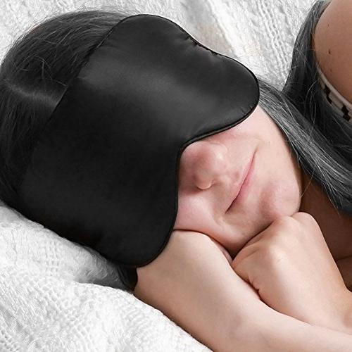 Silk Eye mask Sleeping-Soft Mask Eyeshade for Men Women Kids,Comfortable