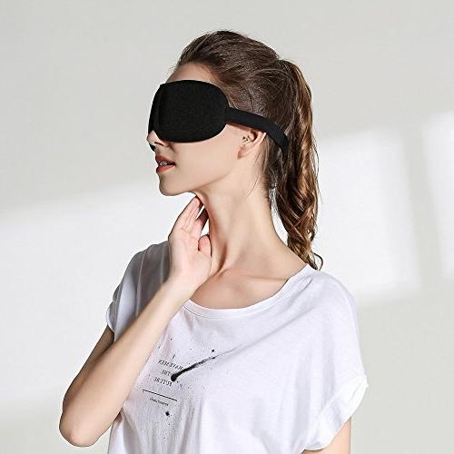 Sleep 3D Covers for Sleeping, Deep Eyeshade, Light Smooth with for Insomnia Meditation
