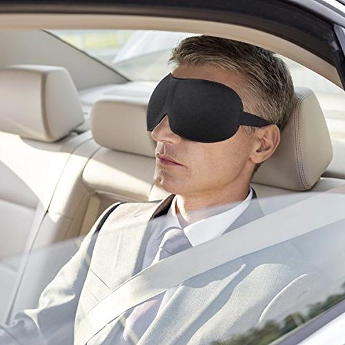 3D Eyeshade, Light Super Smooth with Insomnia Meditation