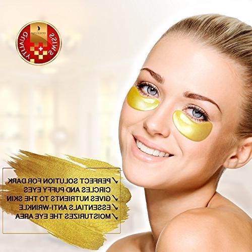 Under Eye Gold Eye Mask Acid Patches Under for