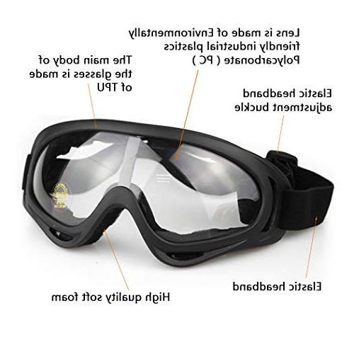 Aoutacc Mask Goggles Set, Half Full and
