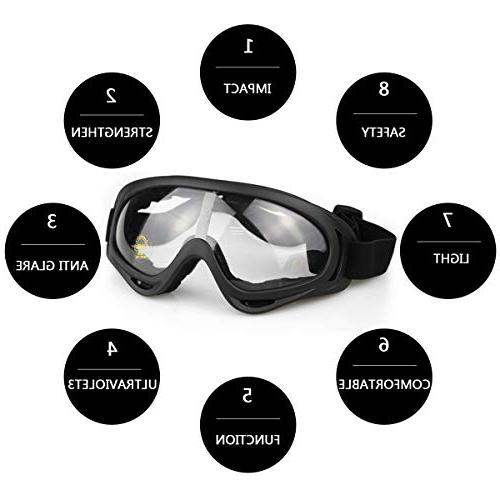Aoutacc Full Steel and Goggles CS/Hunting/Paintball/Shooting
