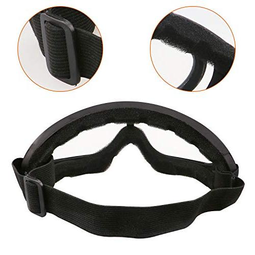 Aoutacc Goggles Half Face Full Mask and for