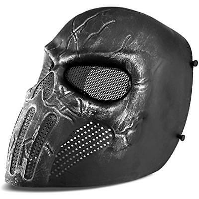 Airsoft Face Skull Mesh Safety