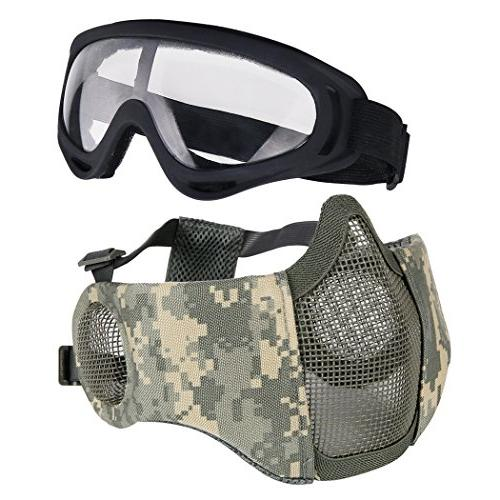 airsoft protective gear set
